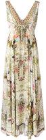 Camilla Girl in the Garden dress - women - Silk - S