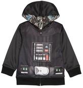 Star Wars Toddler Boys' Darth Vader Reversible Costume Hoodie - Black