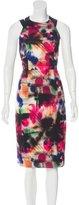 Milly Printed Sheath Dress