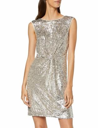 Naf Naf Women's LASHIN R1 Knee-Length Cocktail Sleeveless Party Dress