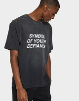 Insight Symbol of Youth Defiance SS Tee in Black