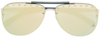 Philipp Plein Calypso studded sunglasses