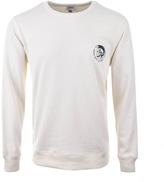 Diesel Willy Sweatshirt Cream