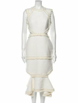Alexis Crew Neck Midi Length Dress w/ Tags
