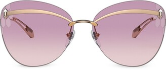 Bvlgari Serpenti Flyingscale Butterfly sunglasses