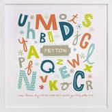 Minted Alphabet Soup for Her Nursery Custom Art Print