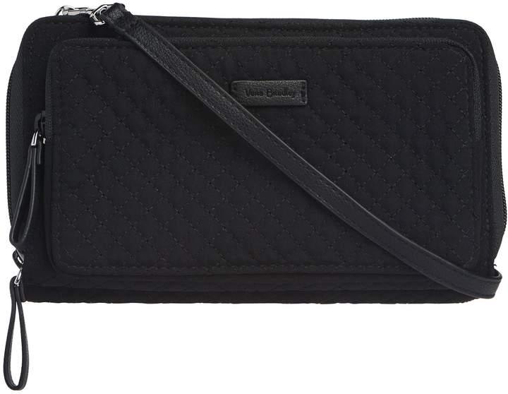 Vera Bradley Iconic Deluxe Microfiber All Together Crossbody Bag