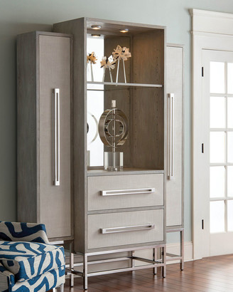John-Richard Collection Zabrina Lighted Cabinet