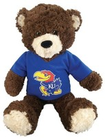 "NCAA Kansas Bear - Multi-Colored (14""x17"")"