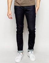 Diesel Jeans Sleenker 849d Skinny Fit Everspring Stretch Rinse