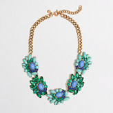 J.Crew Factory Factory wave cluster necklace