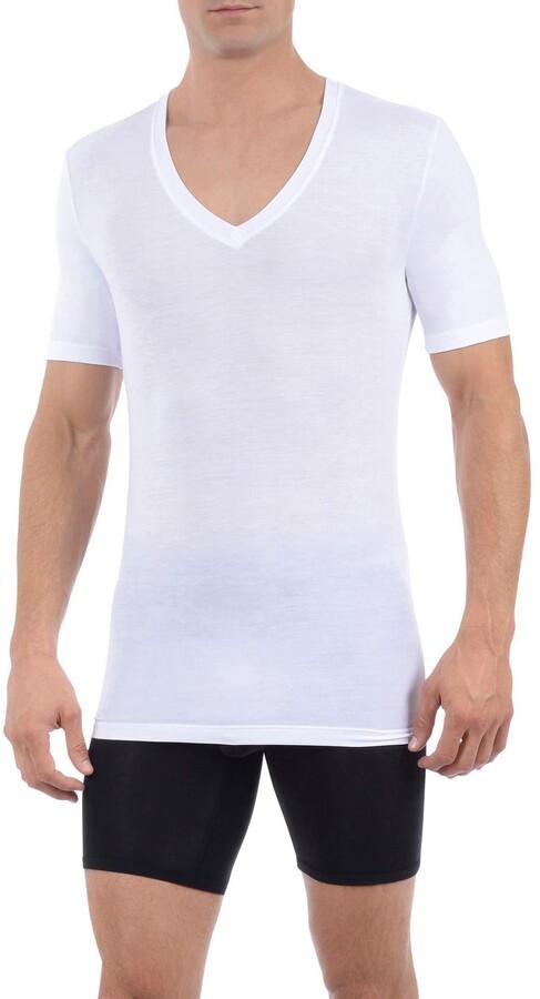 Tommy John Second Skin Micromodal Deep V-Neck Undershirt