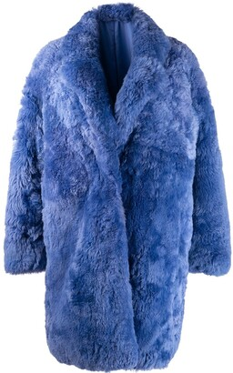 Liska Single-Breasted Fur Coat