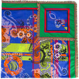 Etro 'Travel' print scarf - women - Cotton/Viscose - One Size