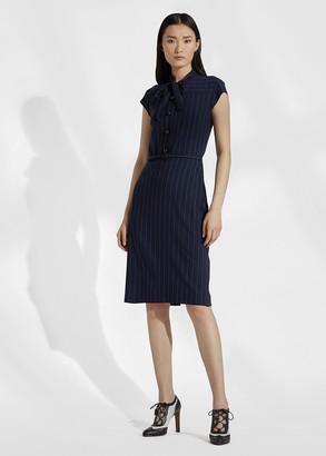 Ralph Lauren Carlisle Wool Twill Day Dress