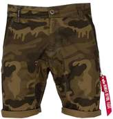 Alpha Industries Men's Keresene Camo Shorts