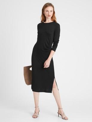 Banana Republic Luxespun Side-Ruched Dress