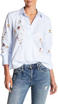 Blank NYC BLANKNYC In Bloom Embroiderd Floral Blouse