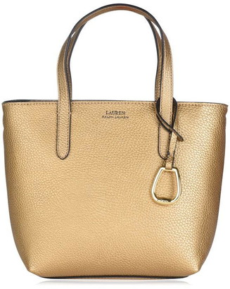 Lauren by Ralph Lauren Merrimack Mini Tote Zip Bag Womens