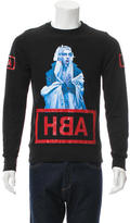 Hood by Air Graphic Print Sweatshirt