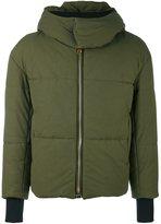 Palm Angels padded jacket - men - Cotton/Viscose - S