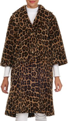 Michael Kors Collection Lamb Shearling Stroller Coat