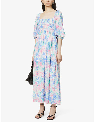 Faithfull The Brand Brisa floral-print woven midi dress