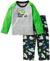 Carter's outer space raglan pajama set - toddler