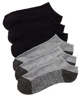 Lucky Brand Men's Pack Of 6 Terry Lowcut Socks.