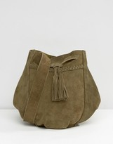 Park Lane Festival Suede Cross Body Bag