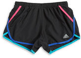adidas Girls 7-16 Girls Contrast Jersey Shorts