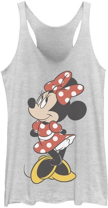 Licensed Character Juniors' Disney Minnie Mouse Vintage Minnie Pose Tank