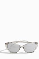 Linda Farrow Luxe Truffle Gold Cat-Eye Sunglasses