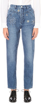 Claudie Pierlot Patsy regular-fit high-rise jeans