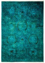 "Solo Rugs Vibrance Area Rug, 4'2"" x 6'"
