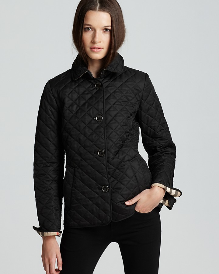 Burberry Fitted Quilted Copford Jacket