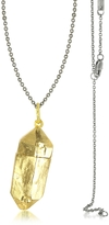 Bjorg Magic Hour - Rock Box Golden Charm Necklace