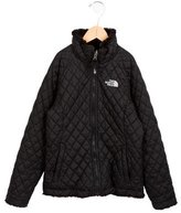 The North Face Girls' Quilted Reversible Jacket