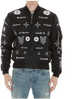 Marcelo Burlon County of Milan Roldan Alpha Bomber Jacket