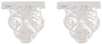 Victoria Strigini Lions Head cufflinks