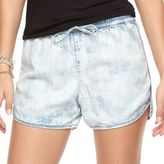 Juicy Couture Women's Acid-Wash Chambray Shorts