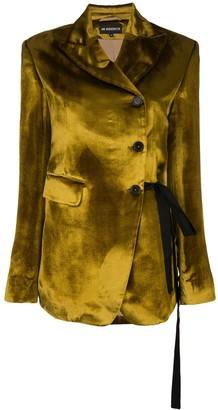 Ann Demeulemeester crushed velvet blazer