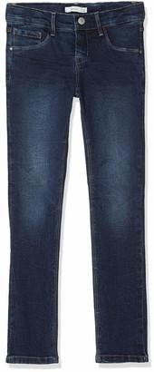Name It Girl's Nkfrose Dnmtulone 3229 Pant Trouser