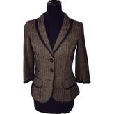 Louis Vuitton Brown Viscose Jacket