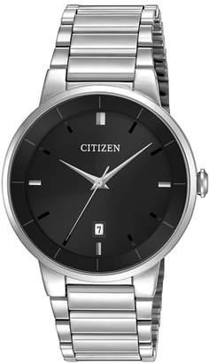 Analog Citizen Quartz Collection Stainless Steel Watch