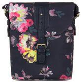 Joules New Womens Blue Tourer Polyester Handbag Crossbody Bags