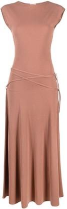 Lemaire Sleeveless Cotton Maxi Dress