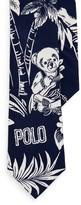 Ralph Lauren Tropical Bear Narrow Tie