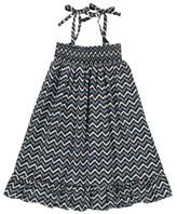 ZEF Sale - Folk Zigzag Smock Dress