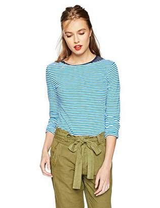 J.Crew Mercantile Women's Long-Sleeve Striped Boatneck T-Shirt